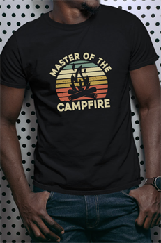 Picture of Master of the Campfire Graphic Tee