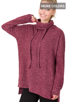 Picture of Turtleneck Hacci Top